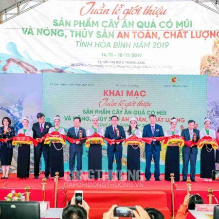 Cao Cà gai leo Yên Thủy tham gia Tuần lễ giới thiệu sản phẩm tại Big C Thăng Long