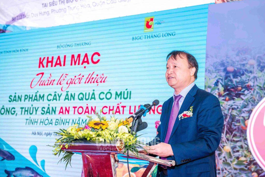 Thứ trưởng Bộ Công Thương Đỗ Thắng Hải phát biểu tại Lễ Khai mạc